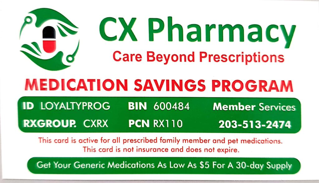 cx pharmacy - our services
